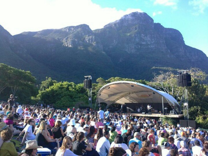 During the summer months Kirstenbosch gardens host open-air concerts on weekends. Bring along a picnic basket and some friends.
