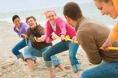 Cheap entertainment is the key to your Independence Party this year! A little friendly competition in tug-o-war anyone?!