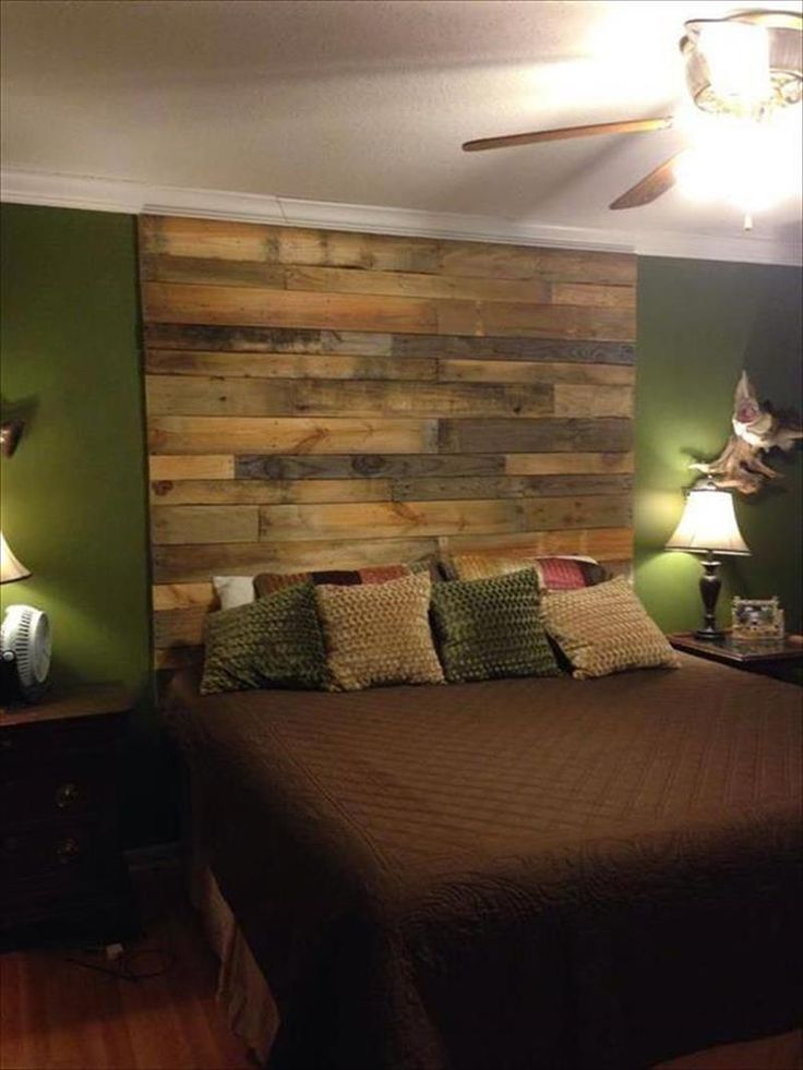 wood wall headboard - Yahoo Image Search Results