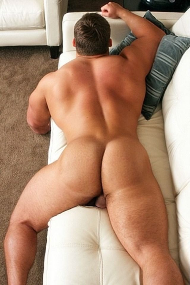 Gay butt big muscle