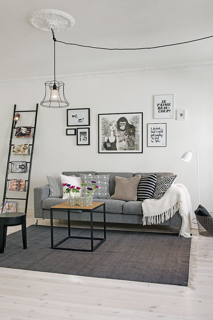 Black and white power! | PLANETE DECO a homes world