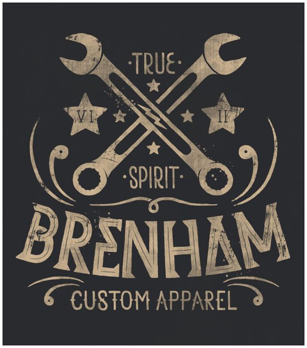 We worked with online clothing retailer Stylemology to create a series of designs and illustrations for Brenham, their motorcycle-inspired menswear brand. Below are a series of logo variations and t-shirt illustrations. This range was loosely inspired by a retro-styled journey through mexico.