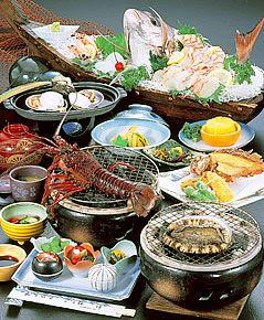 通常お料理|相差で伊勢えび・あわび料理が堪能できる宿「料理旅館 伝洋 」