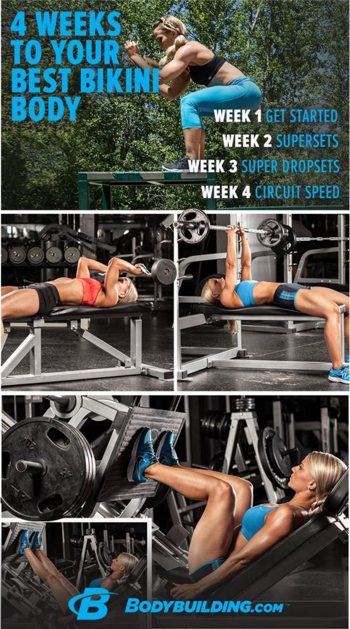 My favorite program to follow for summer! Awesome workouts, nutrition, and supplement plan.