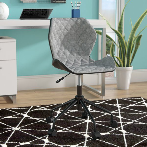 Outfit Your Office In Contemporary Style With This Distinctive Desk Chair Founded Atop A Plastic And Metal Frame Its G Task Chair Furniture Best Office Chair