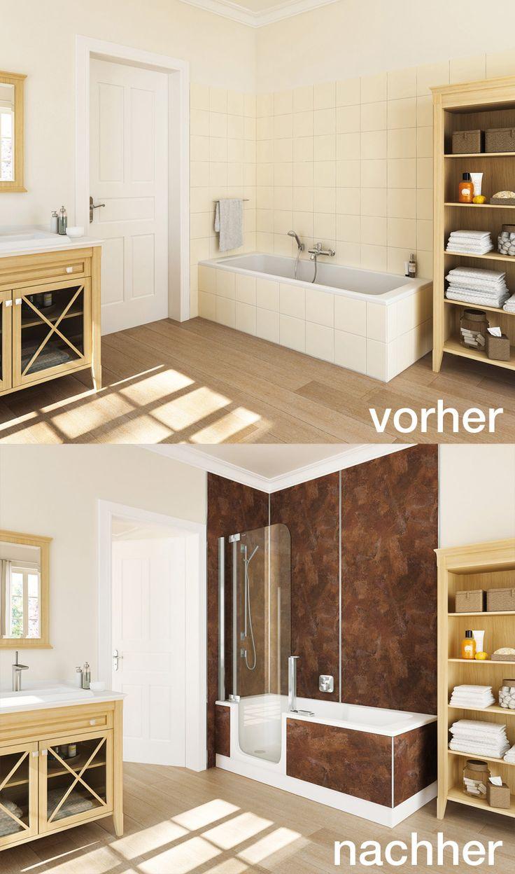 35 besten badewanne raumspar bilder auf pinterest badewannen kaufen und badezimmer. Black Bedroom Furniture Sets. Home Design Ideas