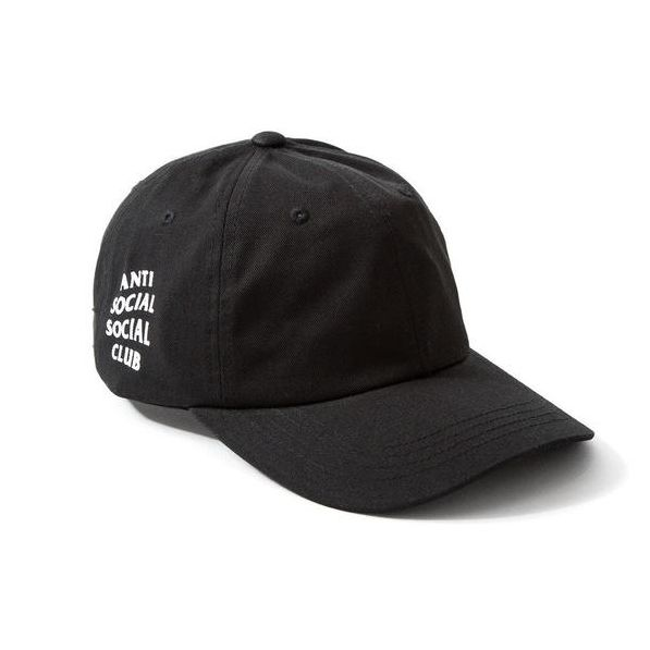 Keep your swag on with this cap from Anti Social Club. It's a Black Cotton Twill Hat with a hit on the side. It's made from 100% cotton. It features an adjustable strap back as well. See the whole cap collection at https://streetwearport.com/collections/all #AntiSocialSocialClub #ASSC