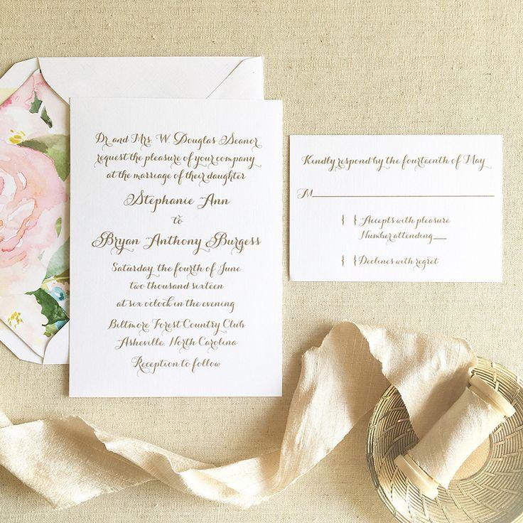 30 best Wedding Invitation Ideas images on Pinterest Invitation - best of invitation letter wedding