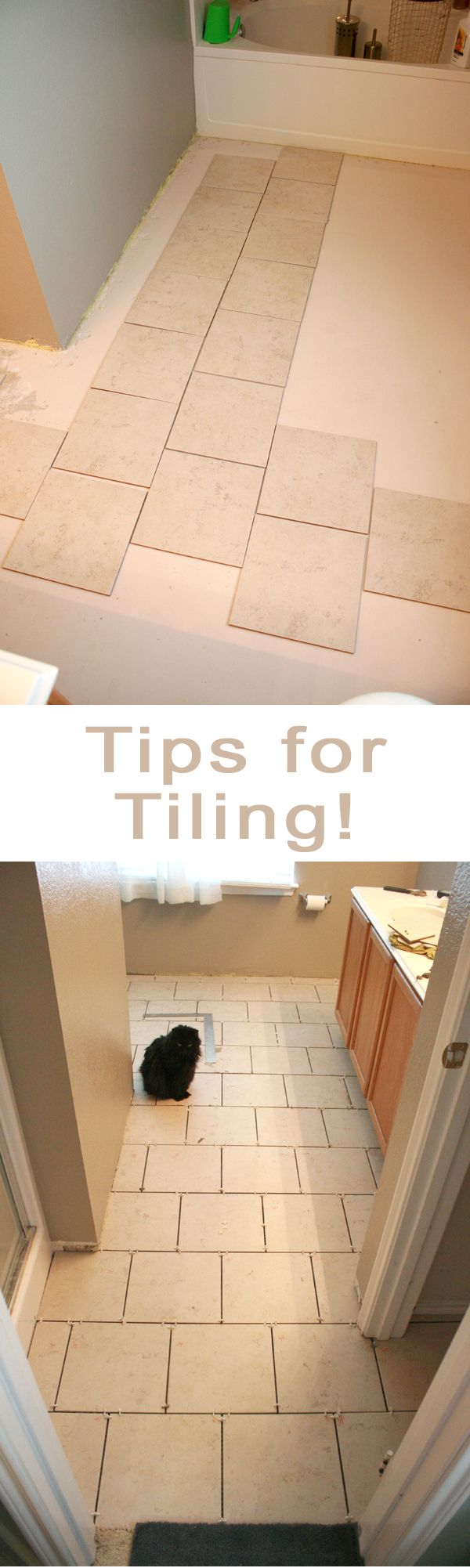 Great Simple Tips For Tiling Your Floors DIY! When I Get The Courage.