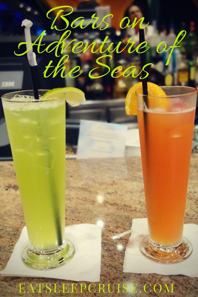 Bars on Adventure of the Seas