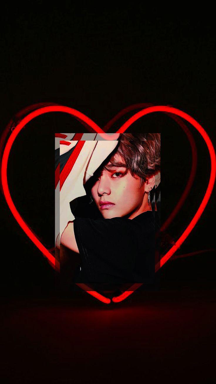 KIM TAEHYUNG RED AESTHETIC BTS V RED WALLPAPER Taetae