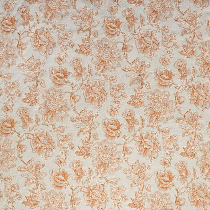 Warwick Fabrics : MANDALAY TANGERINE