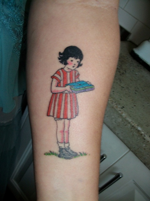 milly molly mandy tattoo: Tattoo Ideas, Awesome Tattoo, Tattoo Inspiration, Heart Tattoo, Best Tattoo Ever, Millie Molly, Tattoo Pics, Molly Mandy, Vintage Image