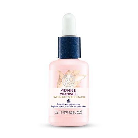 The Body Shop Vitamine E Overnight Serum-In-Oil http://www.thebodyshop.nl/gezichtsverzorging/serums/vitamin-e-overnight-serum-in-oil.aspx