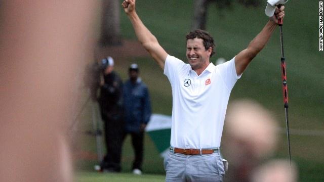 Adam Scott, masters | Great Scott! Aussie Adam Scott wins Masters - CNN.com