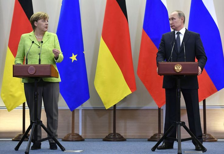 Merkel calls out Putin over persecution of LGBT community in Chechnya