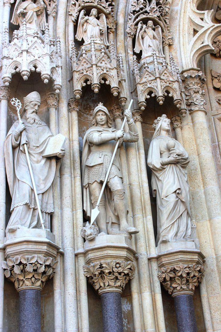 Zagreb Cathedral, Croatia.