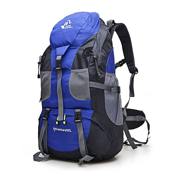 *** Free Shipping*** 50Ltr Waterproof Backpack   Features:- Made of waterproof nylon fabric, breathable and wear resistant- 50L large capacity, maximum lo