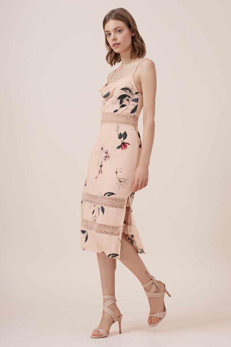 Keepsake - Do It Right Dress- Light Floral