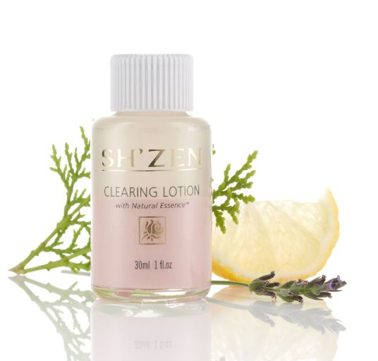 Natural Essence Clearing Lotion  This is a must-have for anyone struggling with acne or the occasional spot. Fast acting relief from break-outs!