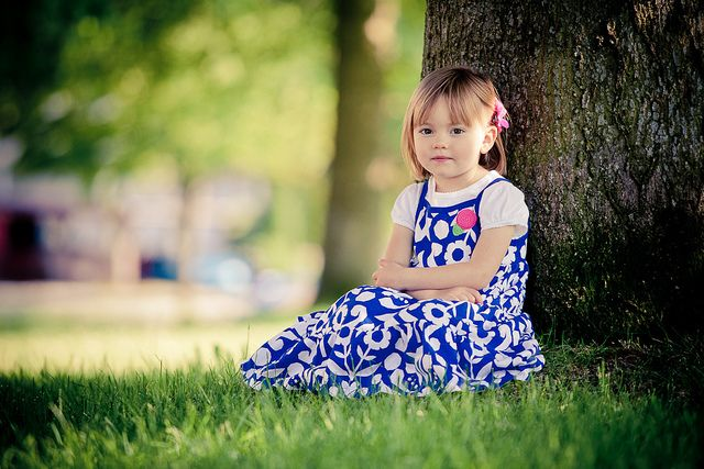 How to talk to little girls - without focusing on their looks and teaching them to value more than how cute they are.