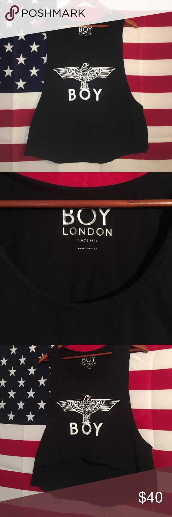 BOY LONDON Boy London Top. One size fits all UNIF Tops Muscle Tees