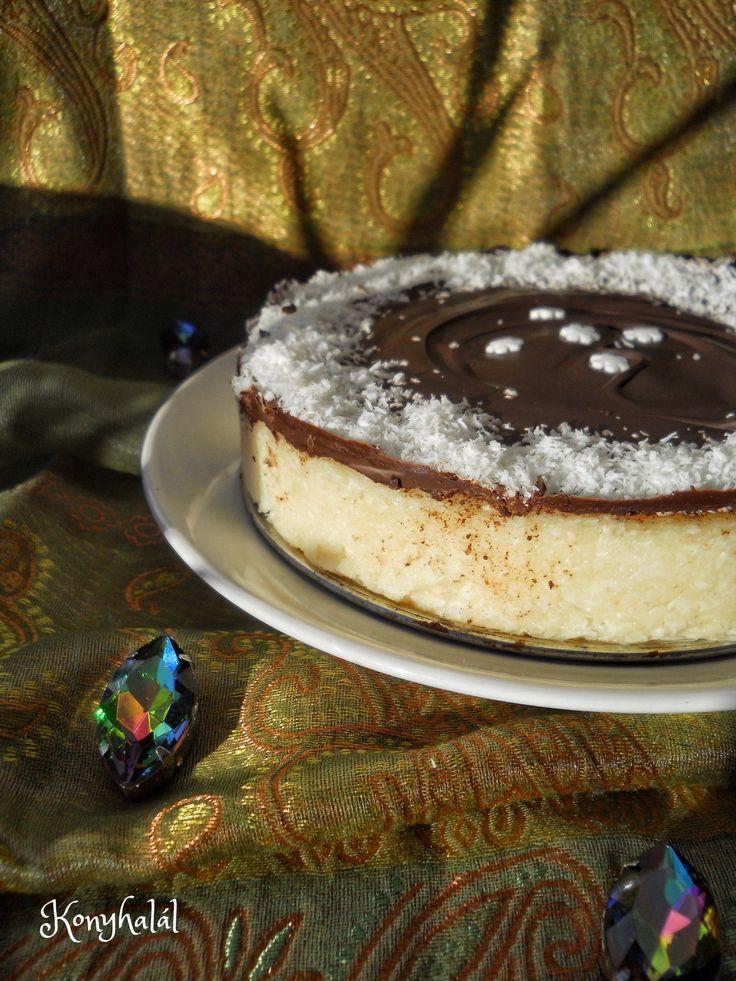 kókuszos tejbegríz torta sütés nélkül