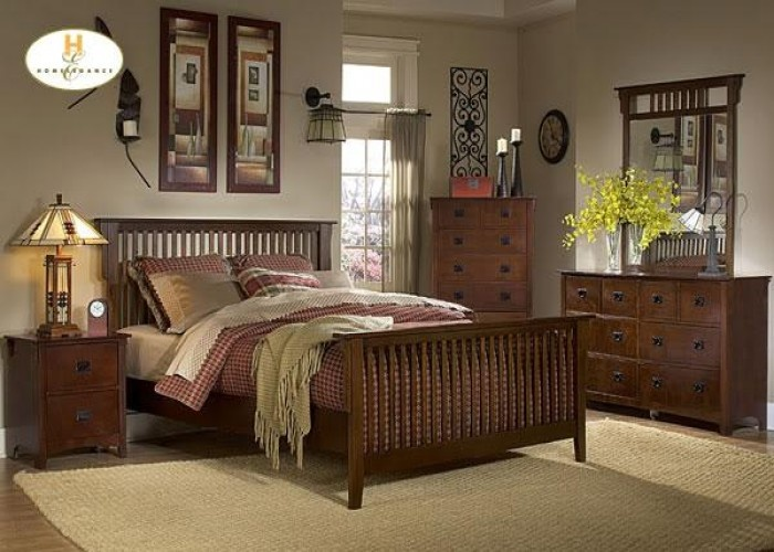 Mission Style Paint Schemes | Beautiful New Mission Style Bedroom Set  Available In 2 Colors!