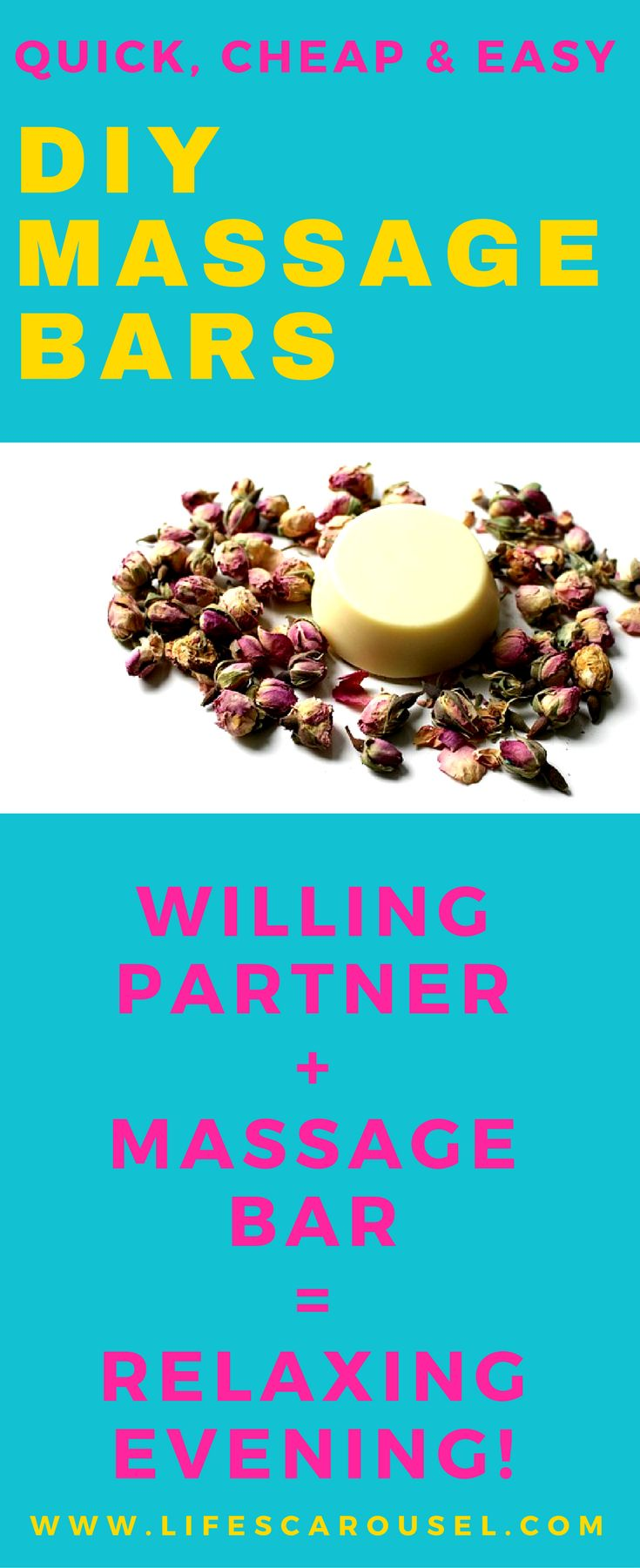 Need to relax? Try making this LUSH inspired Massage Bar. Quick and Easy!
