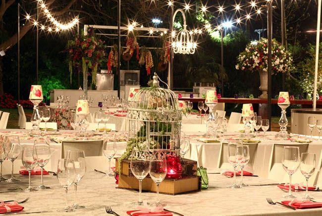 свадебный зал в стиле винтаж