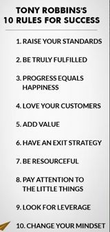 Rules for success: Tony Robbins. Tony Robbins, Official website with FREE Get Rich & Love Life bestseller By Kevin Clarke download. - Awesome http://kevinclarkefocus.com/tonyrobbins3 #tony #robbins #quotes Grow your business on auto-pilot