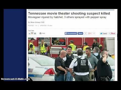 """Gunman with Hatchet Killed in Nashville Theater Showing """"Mad Max Fury Ro..."""
