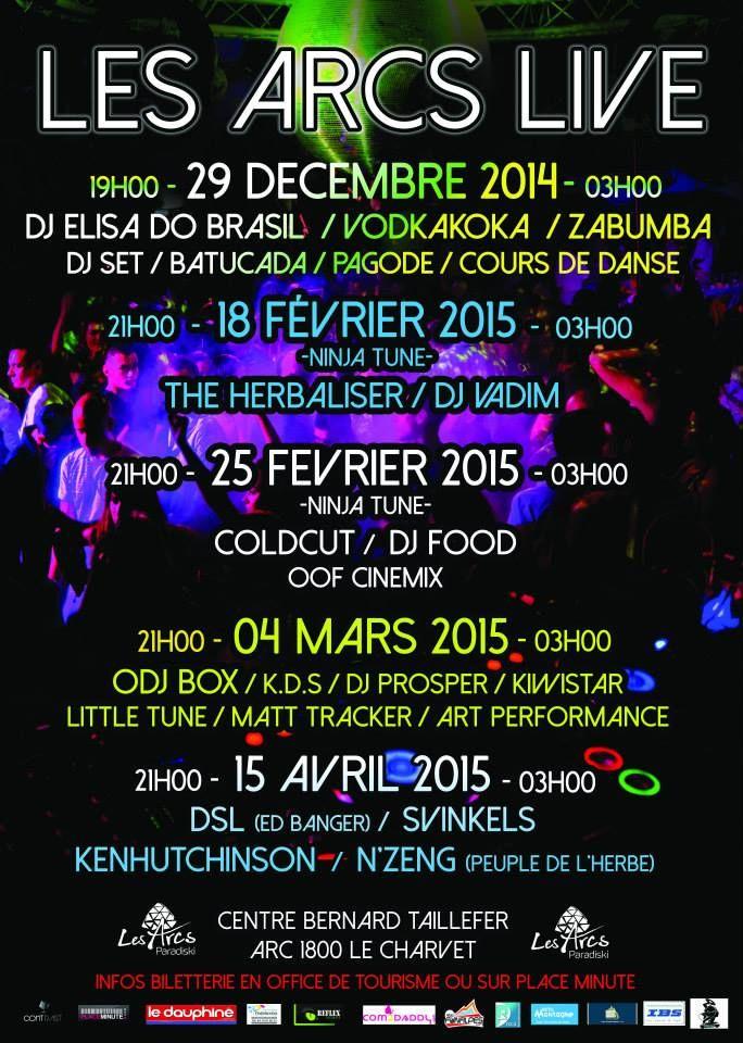 les arcs live 2014