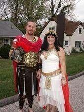 Cleopatra and Marc Antony