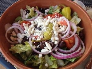 Greek Salad from Panera Bread