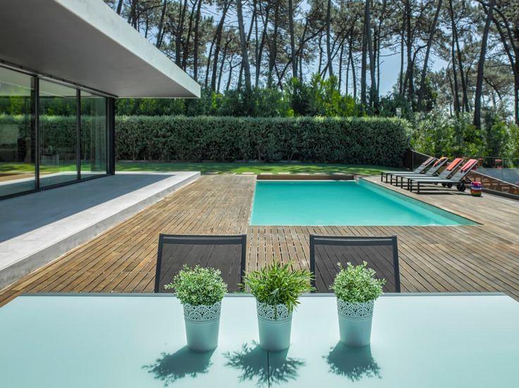 Las 25 mejores ideas sobre piscinas modernas en pinterest for Imagenes de albercas modernas