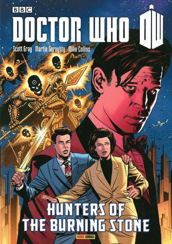Doctor Who: Hunters of the Burning Stone GN (Doctor Who (Panini Comics)) @ niftywarehouse.com #NiftyWarehouse #DoctorWho #DrWho #Whovians #SciFi #ScienceFiction #BBC #Show #TV