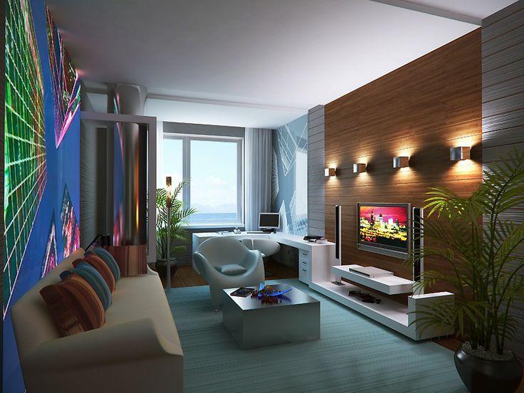 Modern Tv Room Tv Rooms And Interior Modern On Pinterest