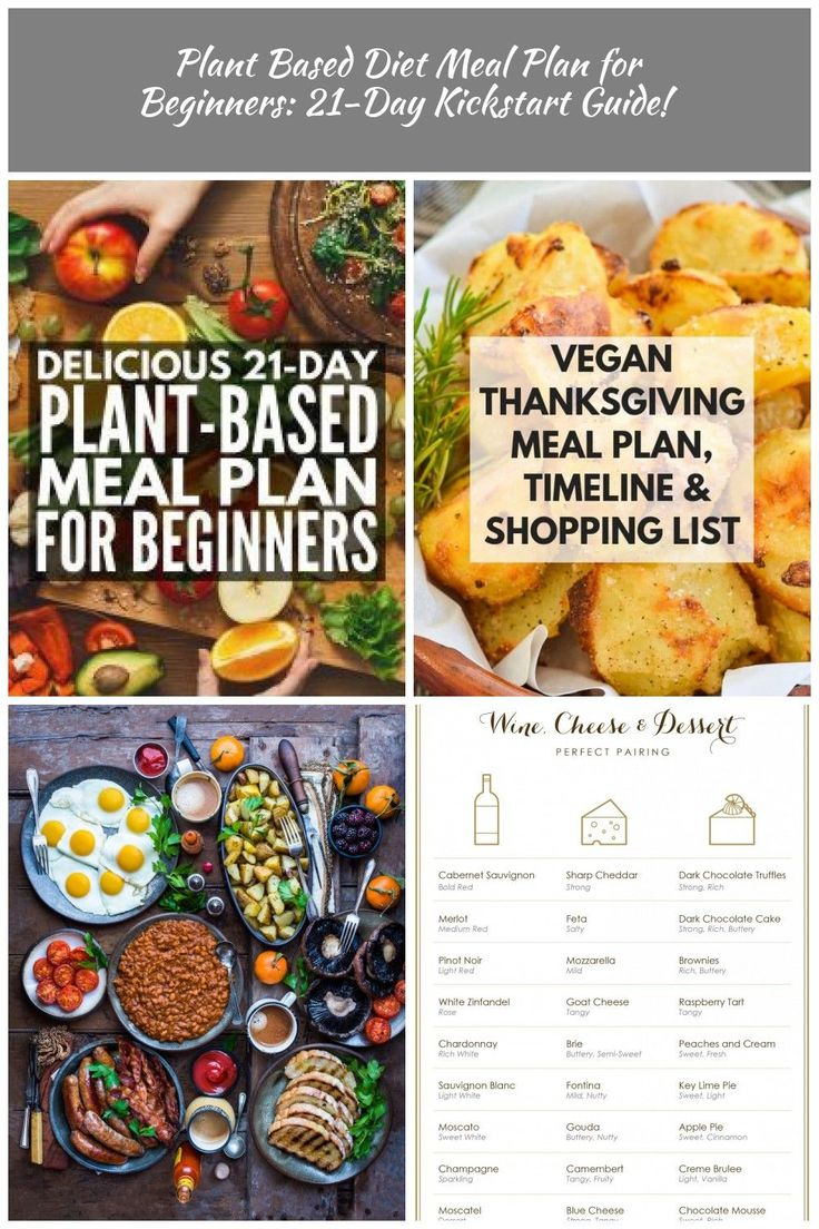 21Day Plant Based Diet Meal Plan for Beginners Looking