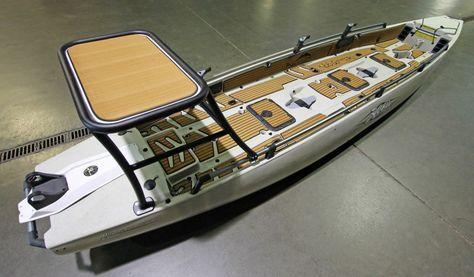 Custom SeaDek on a Hobie PA 17 fishing kayak