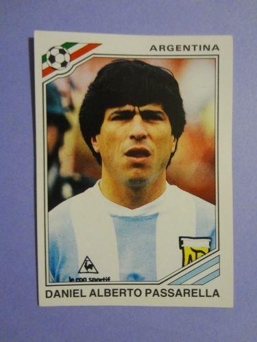 Figurine-panini-footballers-Mexico-86-Argentina-n-76-Passarella-1986-NEW-fio