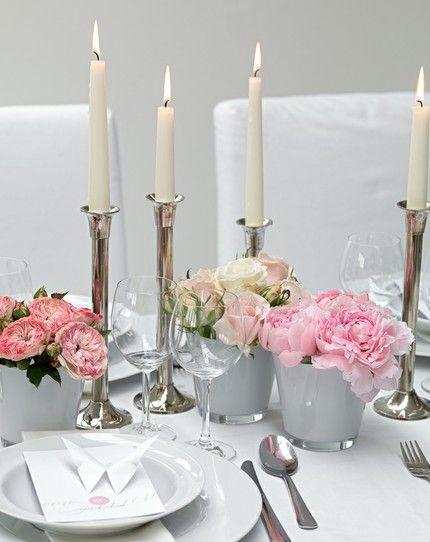 Dekoration Rosen und ranunkel
