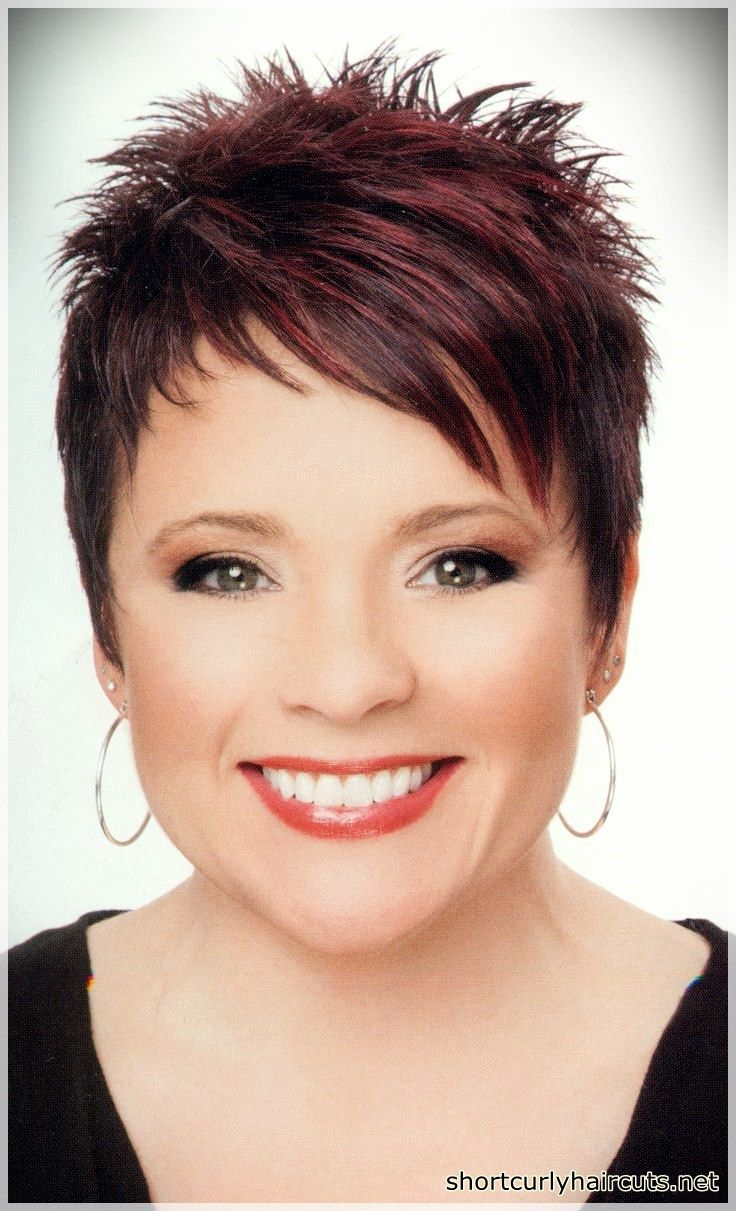 Best Pixie Haircuts for Round FacesShort and Curly Haircuts