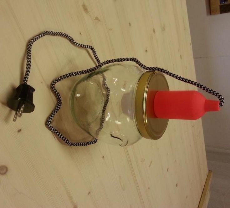 Lampen : Conserven lamp klein - Meubel Atelier Leeuwarden