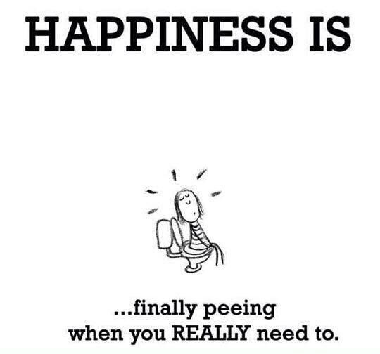 Happiness is...lmao....always wait too long at work...I do love my job ♥