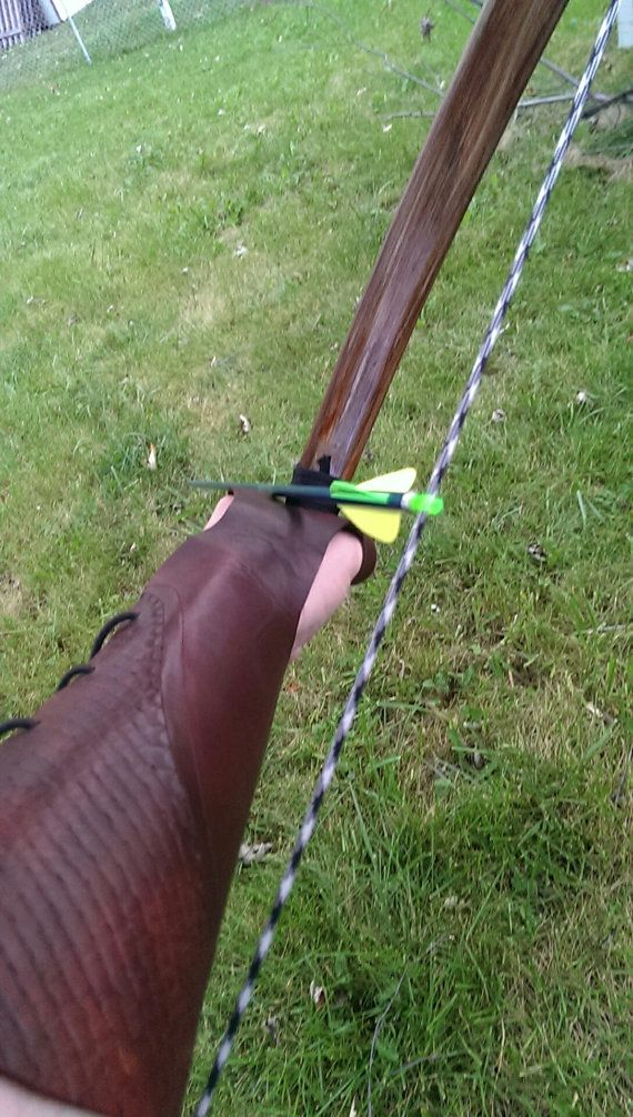 Full Length Arm guard & Bow Hand Glove Combo by GreenwoodBowcraft