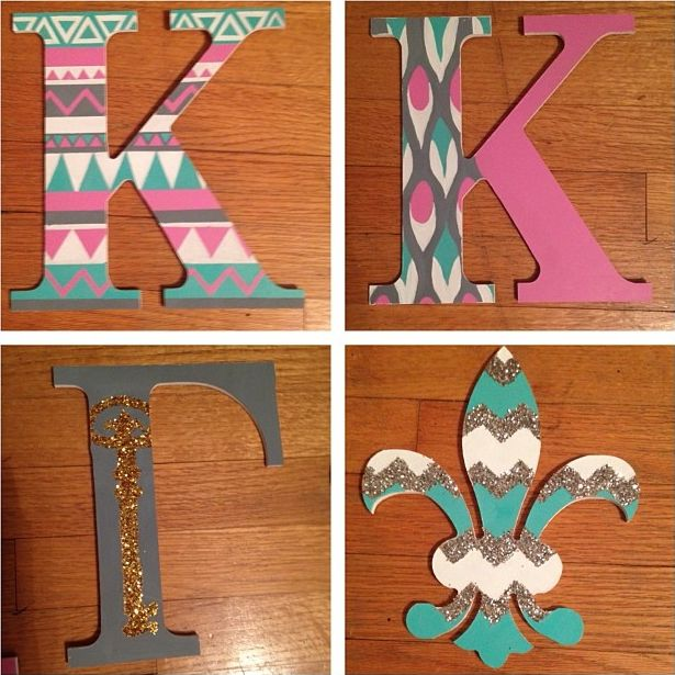 Kappa crafting with the letters and Fleur-de-lis! #KKG #KKG1870