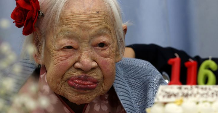 Misao Okawa turned 116 on Wednesday, making her the oldest person in the world. Ms. Okawa is one of five people alive who were born in the 19th Century.  What did she eat and drink?