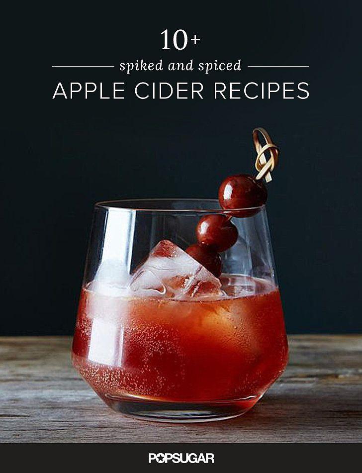 Few things feel more autumnal than spiced cider. Add a splash (or glug ...