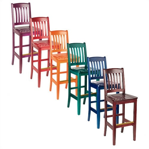 17 best images about i heart fiesta on pinterest - Bright colored bar stools ...
